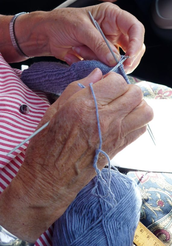 Mom's knitting: the ultimate act of love